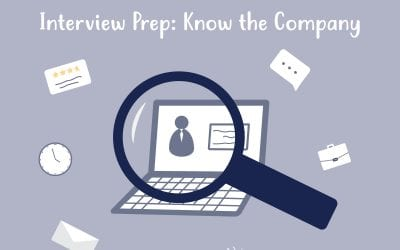 Interview Prep: Know the Company