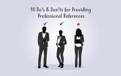 10 Do's and Don'ts for Providing Professional References