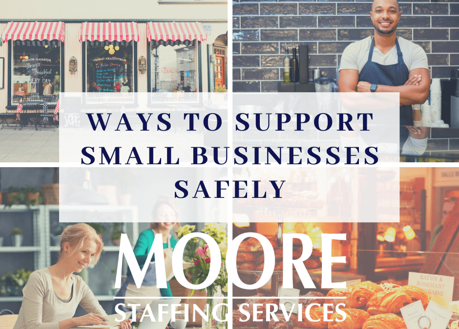 Ways to Support Small Businesses Safely