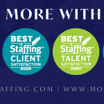 Clearly rated Best of Staffing Winner Three Years in a row, Moore Staffing Services